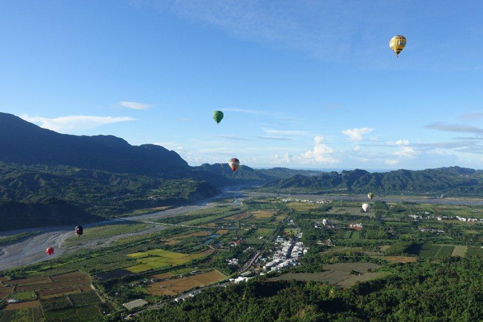 台灣國際熱氣球嘉年華提供