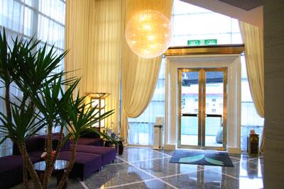 科技和現代感兼備的帝景四季飯店
