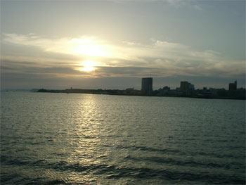 馬公港夕陽  (圖片提供:joelin)