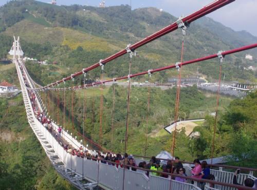 全台最長的景觀吊橋/Eva隨手拍