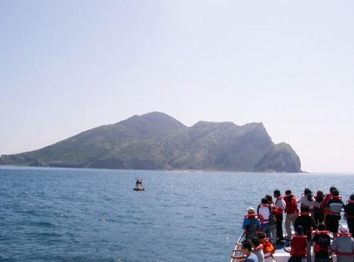 宜蘭二日遊(一)龜山島賞鯨豚乘風破浪賞鯨之旅,第二天前往五峰旗瀑布