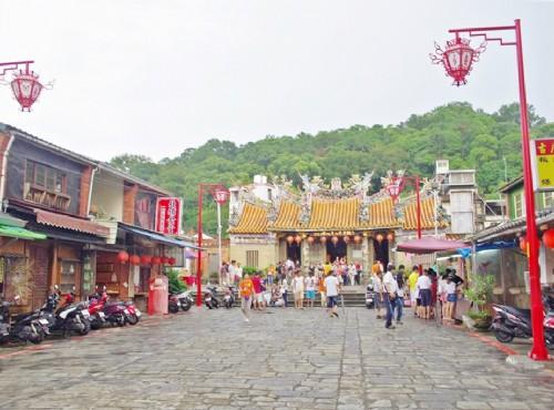 新竹北埔一日遊行程  參觀古蹟、磨擂茶