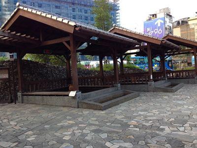礁溪地景廣場免費泡腳池 / Janice