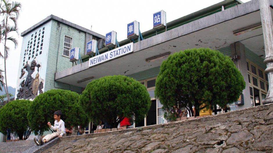 內灣車站尚保留五、六十年代特殊建築 / Kavin 提供