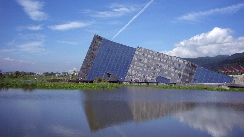 蘭陽博物館造型獨特 Eva/提供