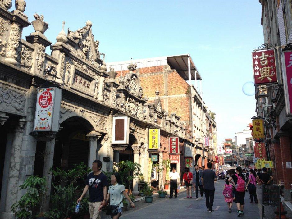 大溪老街是台灣保存最完整建築群之一 / 陳皮梅 提供