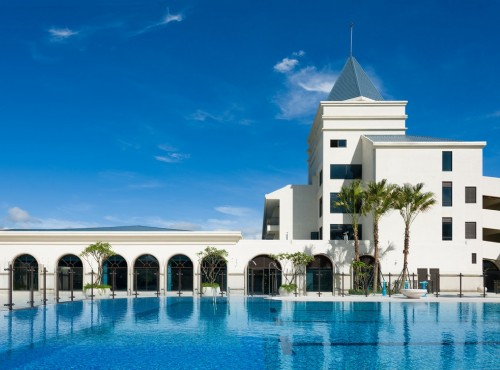 享受溫泉、海洋沙灘與自然環繞的親子飯店【福容大飯店-福隆】