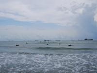 旗津黑沙玩藝節 暑假高雄沙很大