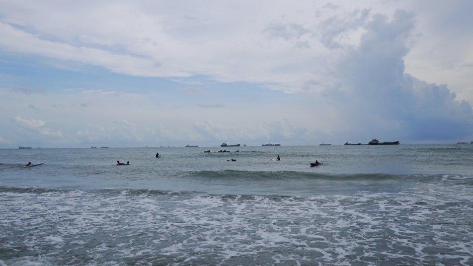 暑假到旗津海水浴場參加黑沙玩藝節戲水玩沙/旅遊王攝影組