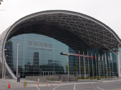 高雄展覽館是高雄第一座國際級專業展場/Xcatx 提供