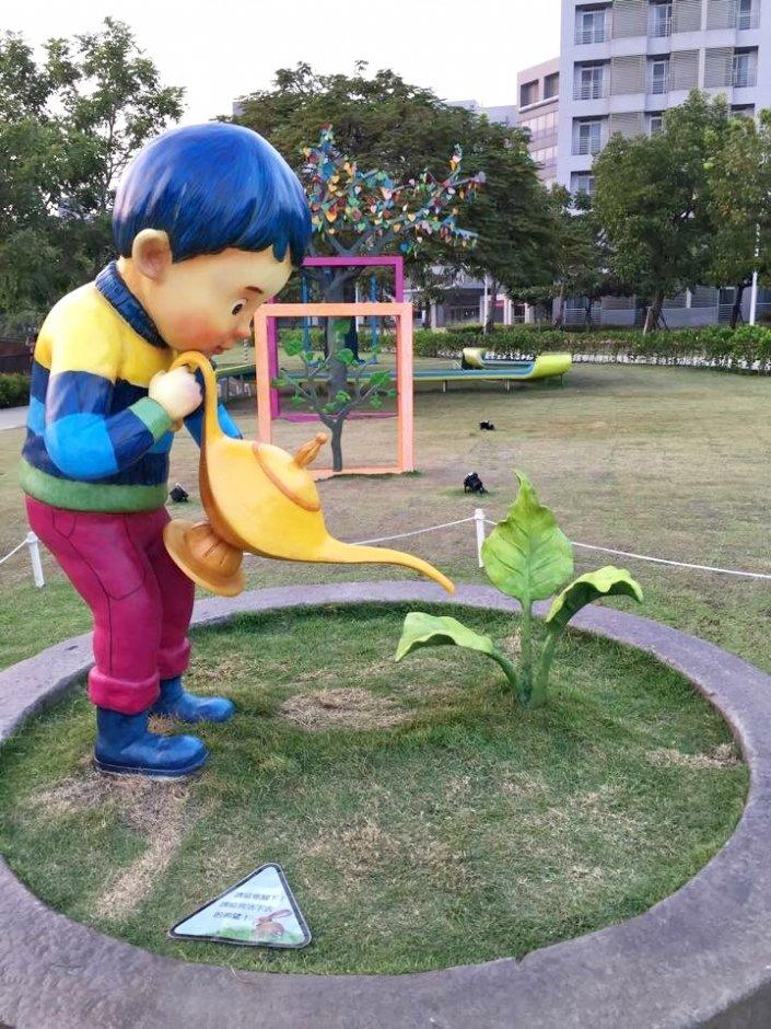 南科湖濱雅舍幾米主題公園 / Rony 提供