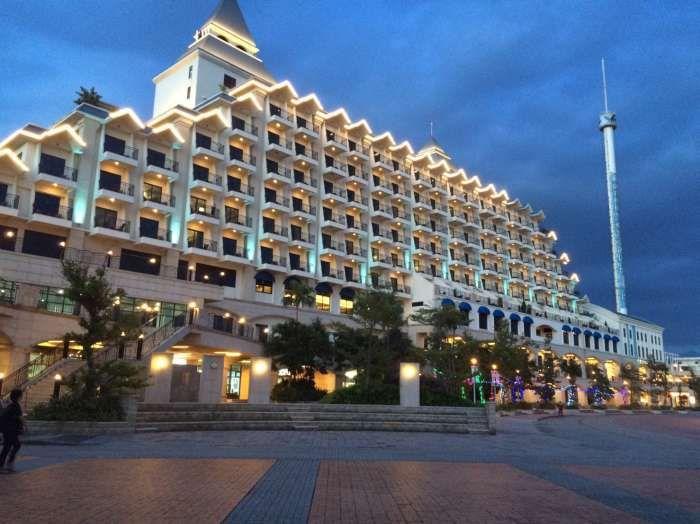 福容大飯店-淡水漁人碼頭的獨特造型而有愛之船美稱 /Leon提供