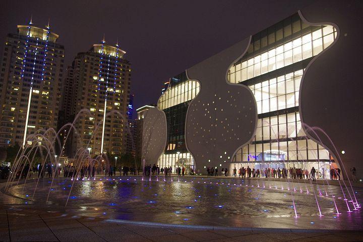 台中國家歌劇院為活動場地之一/Eva隨手拍