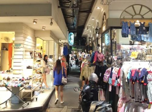 松山五分埔也是台北著購物街/leon