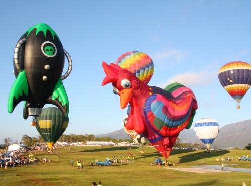 熱氣球、飛行傘 來台東實現翱翔天際的夢想