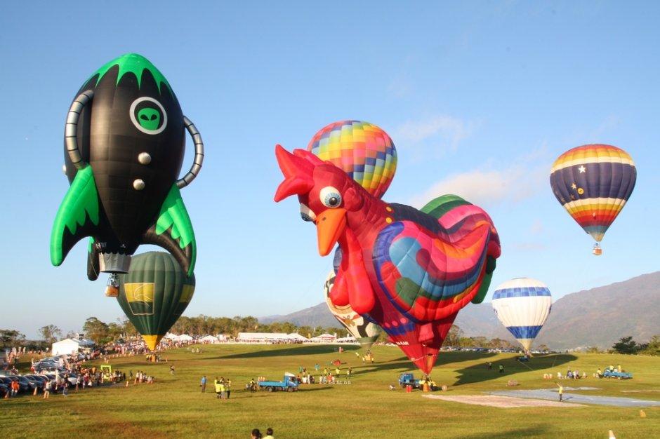 造型多元可愛的熱氣球/sheng