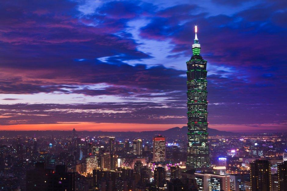 擁有迷人夜色的台北都會區 / 資料照片