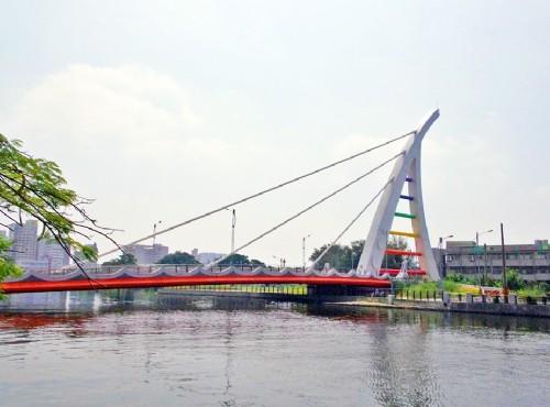 安平運河旁景色悠閒/meiyin