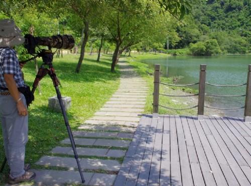 湖光山色的梅花湖風景區/Eva隨手拍