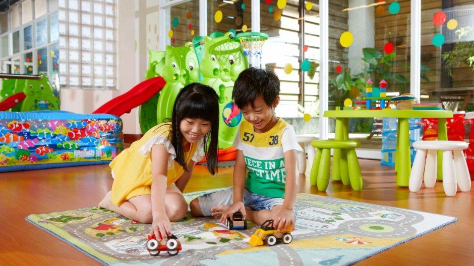 金SPA會館內的兒童遊戲室 / 東森山林渡假酒店 提供