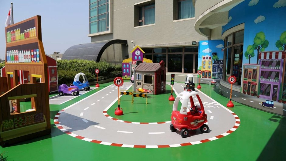 親子遊樂空間「FUN世界」 / 台中港酒店 提供