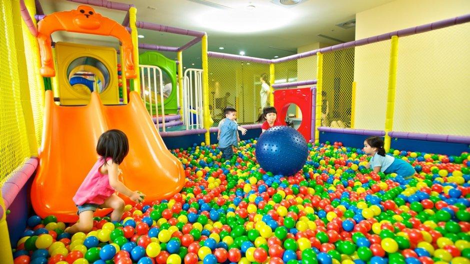 兒童遊戲室 / 日暉國際渡假村 提供