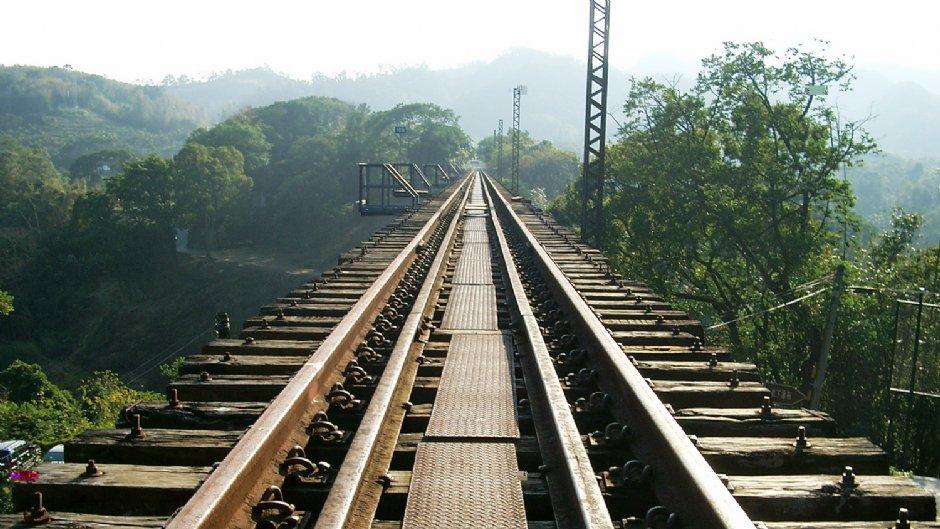 龍騰斷橋旁舊鐵道/Eva隨手拍