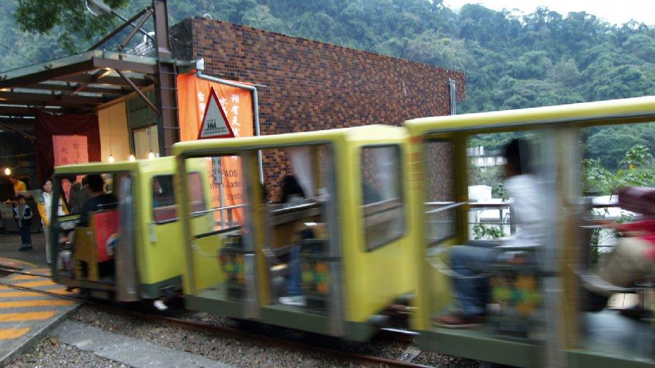 穿梭在山林間的烏來台車鐵道/kavin